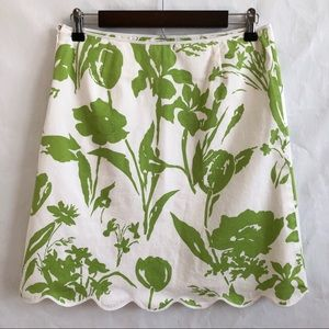 Cambridge Dry Goods Skirts - Cambridge Dry Goods Floral Skirt w/Bows • Size 4